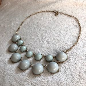 Mint statement necklace!